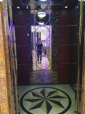 Lit Titanium золотистого лифта пассажира нержавеющей стали селитебный