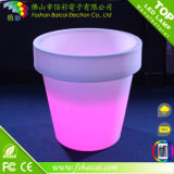 Venta caliente al aire libre impermeable flor de LED Flower Pot Restaurante