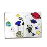 Libro de niños de encargo Softcover de la impresión en offset para aprender