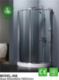 開いた正方形様式のホーム簡単なシャワー室を滑らせる6mmガラス