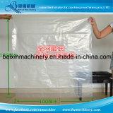 Bolso plano de la película plástica del LDPE LLDPE del HDPE que hace la máquina