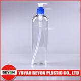 botella oval plástica de Ellipe del animal doméstico 300ml con la bomba de la loción (ZY01-A011)