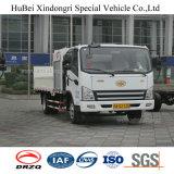 2.5ton FAW 유로 6 전기 쓰레기 배럴 전송 납품 수송 트럭