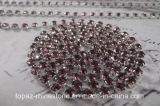 Cadena 3 mm Rollo Copa del Rhinestone para el ornamento del zapato (TCS amatista 3 mm)