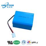 18650 7.4V 5600mAh Li-Ionbatterie mit Cer u. RoHS für medizinische Maschinen-Batterie