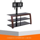 Soporte de madera del nuevo metal TV para los muebles de la sala de estar