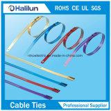 PVC 304 покрыл зафиксированные шариком связи кабеля нержавеющей стали