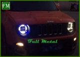 2015-2017 Renegade HID Faro LED para Jeep con Ángel Eye
