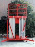 Plataforma de trabalho aéreo com elevador elétrico