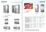 Frigorifero del Governo dell'hotel del congelatore dell'acciaio inossidabile della cucina