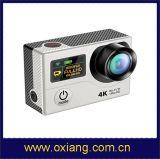 Bom presente para o Natal Câmera de ação de tela dupla Câmera de vídeo sem fio H3 original Câmera de esporte ao ar livre Sj8000