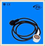 Non contact et type adhérent extérieur détecteur de niveau ultrasonique 1-5V, 4-20mA, RS232, RS485 d'essence facultatif