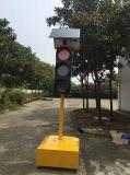 Sinal de tráfego solar portátil de boa qualidade / semáforo solar movível