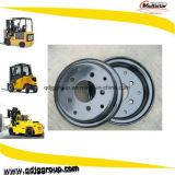roues 9inch en acier fendues pour les machines industrielles