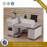 現代2つのシート中国の木ワークステーションMDFのオフィス用家具(HX-NCD072A)