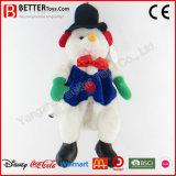 Rugzak de Kerstman van de pluche vulde Sneeuwman