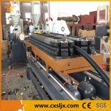 50-250mm 배수장치 플라스틱 두 배 벽 PE 물결 모양 관 생산 라인