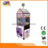 판매를 위한 작은 실내 게임 기계 기중기 장난감 클로 기중기 기계