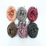 2016 algodón de la manera y la bufanda de lino con las lentejuelas