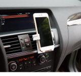 Precio de fábrica universal personalizados titulares logotipo del coche del montaje de la salida de aire del coche para el iPhone 5 6 7 6 + Teléfono