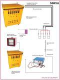 Traitement thermique de soudure de poste de transformateur de source d'énergie pour Pwht 100kw