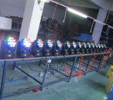 Lumière principale mobile légère d'étape de faisceau de l'éclairage 12PCS 10W DEL 12PCS 10W RGBW de DEL