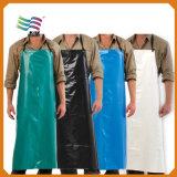 Tablier Ordinaire-Rouge élégant de cuisine de polyester (HYap 009)