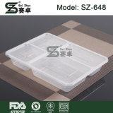 коробка обеда 4-Compartment Bento & устранимый безопасный пластичный контейнер еды