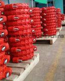 Twee Koppelingen van Bouten voor Mijnbouw in 25 MPa Druk