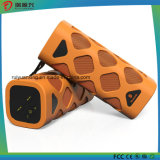 (주황색) 붙박이 마이크를 가진 Bluetooth 휴대용 스피커