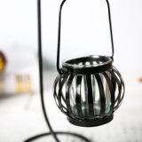 Sostenedor de vela del arte del metal de la dimensión de una variable redonda para Hareware casero