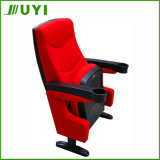 Cadeiras plásticas do auditório da conferência Jy-616 com assento do cinema do suporte de copo