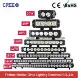 60W 11inch escogen la barra ligera del CREE LED de la fila para los vehículos campo a través 4X4 (GT3301-60W)