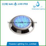 Luz llenada resina de la lámpara de la piscina del acero inoxidable LED
