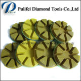 젖은 건조한 가는 3 인치 수지 다이아몬드 구체적인 지면 닦는 패드
