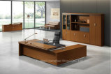 Directeur moderne Table (HF-ES01D32) de bureau de conception de bureau de placage de noix