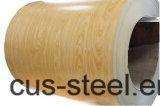 Катушки стали цвета PPGI/PPGL/Wooden/деревянная картина PPGI