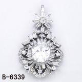 새로운 작풍 925 은 보석 큰 다이아몬드 펜던트