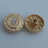 ジーンズの摩耗のための青くかわいい愛金属ボタンのリベット