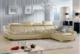 جديدة [إيتلين] حديث أسلوب لون بيضاء يعيش غرزة جلد أريكة ([هإكس-ف605])