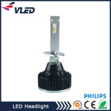 Lâmpada principal LED, 4000lm Philips Philips Zes Chips Headlight para projetor