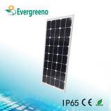 Integrated/tous dans un réverbère solaire de DEL avec le détecteur de PIR