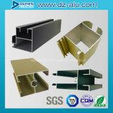Perfil de alumínio para o tamanho personalizado porta do indicador do material de construção