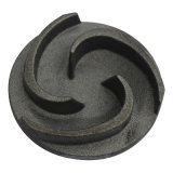Personnalisé ! Pièces chinoises en métal de bâti de forme ronde d'oxyde de noir de constructeur