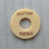 アイボリーLPのギターのトグルスイッチのディスクのリズムのリング