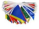 La stringa dello stendardo stampata promozione multicolore inbandiera la stamina per la decorazione