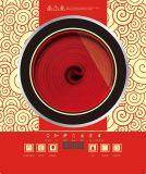 Ailipu beweglicher Fühlernote Tasten-Halogen-Kocher hergestellt in China