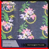 напечатанная цветком ткань джинсовой ткани 13oz на сбывании