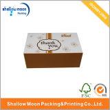 Corrugado caja de papel de embalaje para los zapatos con la impresión en color (QY150083)