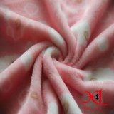 Bequemes und preiswertes Gewebe des Polyester-Flanell-Gewebe-100% für Bettwäsche/Pyjamas